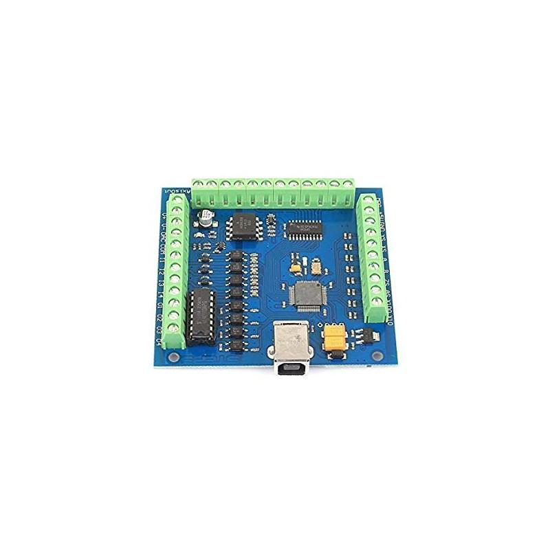 USB MACH3 100Khz Breakout Board 4 Axis STB4100