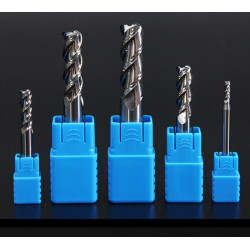 HRC50 3 Flute End Mill for...