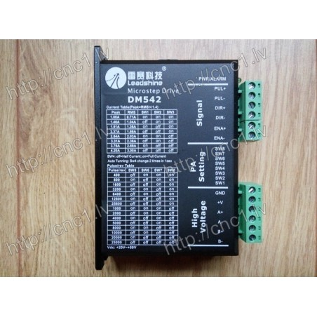 Leadshine DM542 Digital Stepper Drive 20-50 VDC with 1.0-4.2A