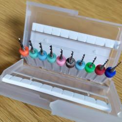 10pcs. PCB 2,1mm -3,0mm...