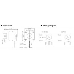 Nema 17 Stepper Motor Wiring Diagram. Nema 17 Stepper Motor Driver  Oz Nema Stepper Wiring Diagram on