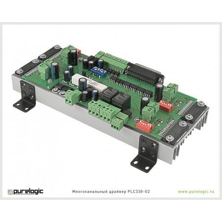 PLC330-G2 4-axis stepper driver 3А/30В